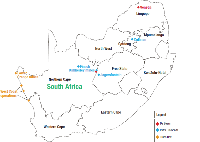 Diamonds   Minerals Council South Africa