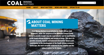Coal Mining Matters [icon]
