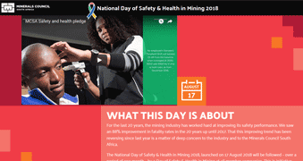 National Day of Safety & Health in Mining 2018 [icon]