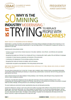 Chamber of Mines FAQs [cover]